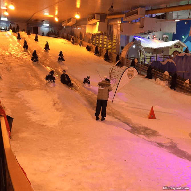 Slope at Snow City Singapore