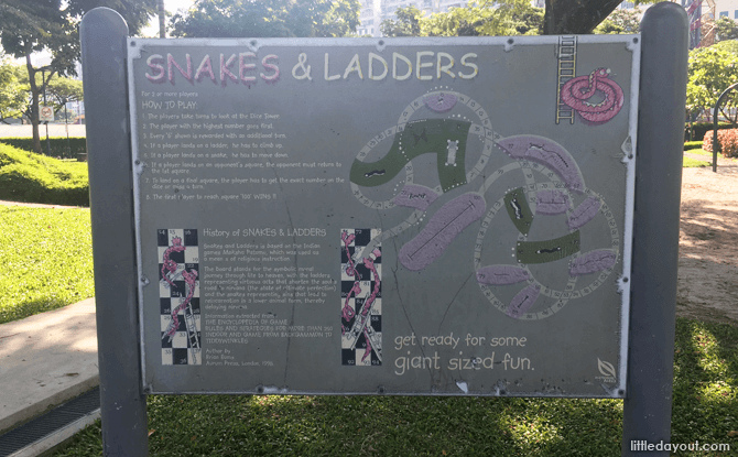Snakes & Ladders Instruction Board