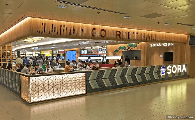 Japan Gourmet Hall SORA, Changi Airport T2