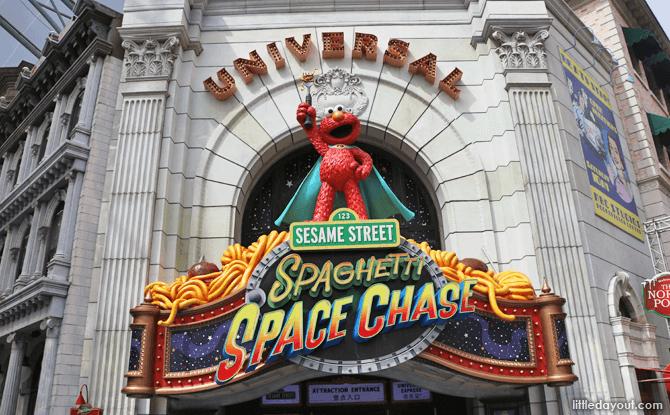 Sesame Street Spaghetti Space Chase