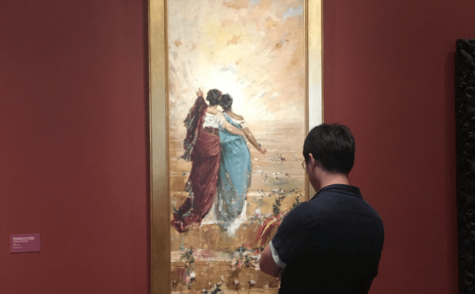 España y Filipinas (Spain and the Philippines) by Juan Luna, 1884