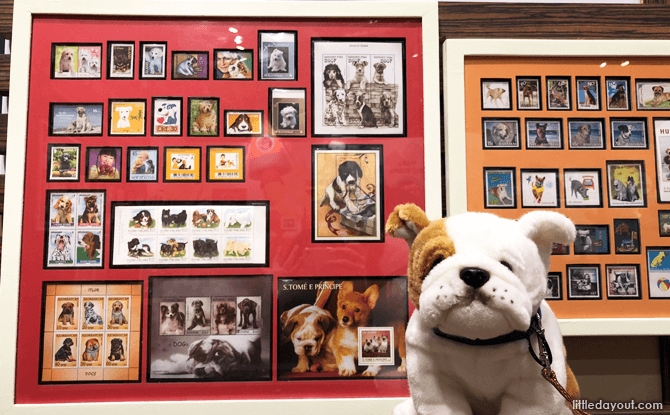 Stamps on Dogs, All About Dogs, Singapore Philatelic Museum