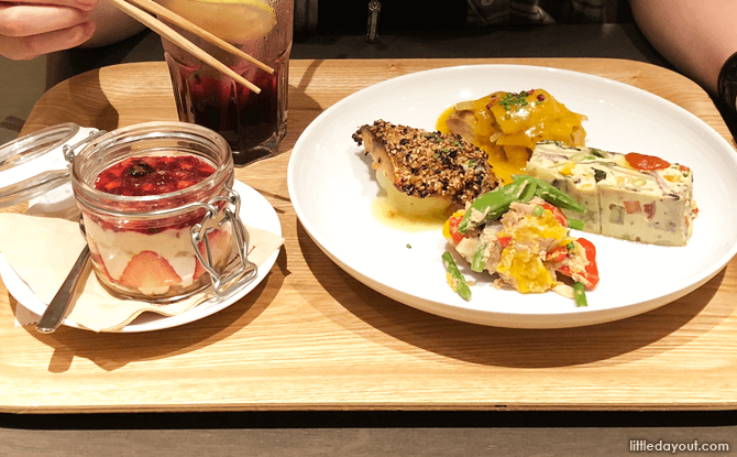 New Spring deli items at Muji Cafe&Meal