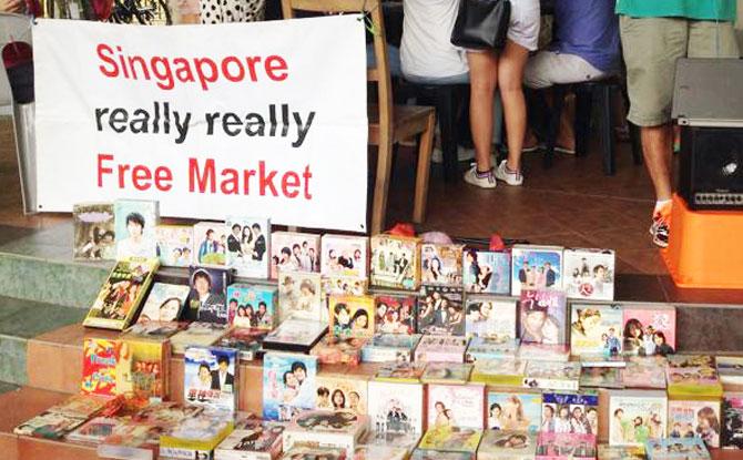 Singapore Really Really Free Market