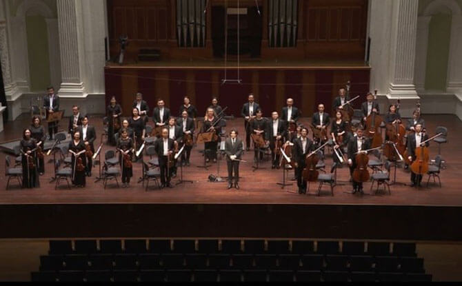 Singapore Symphony Orchestra Livestreamed A Free Concert Without A Live Audience