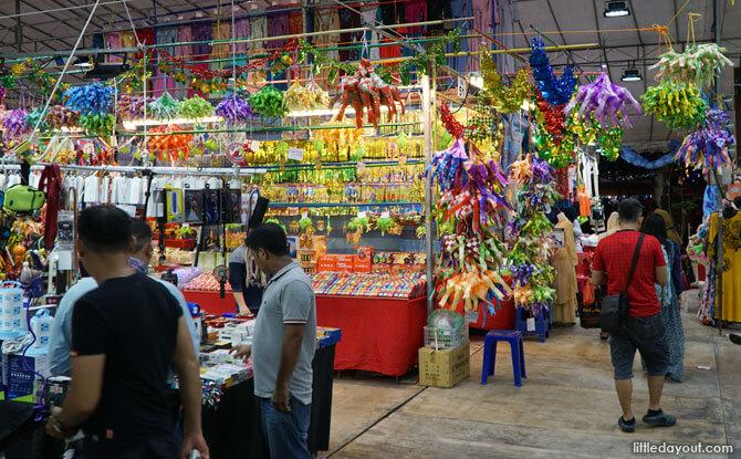 Hari Raya Bazaar in Geylang 2018
