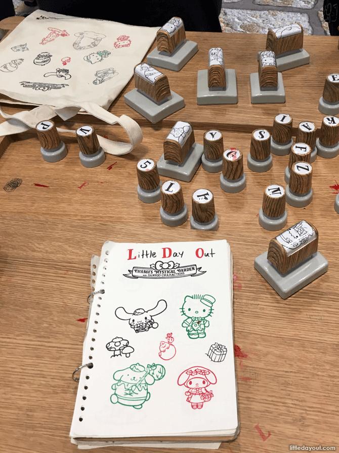 Sanrio Tote Bag Stamping