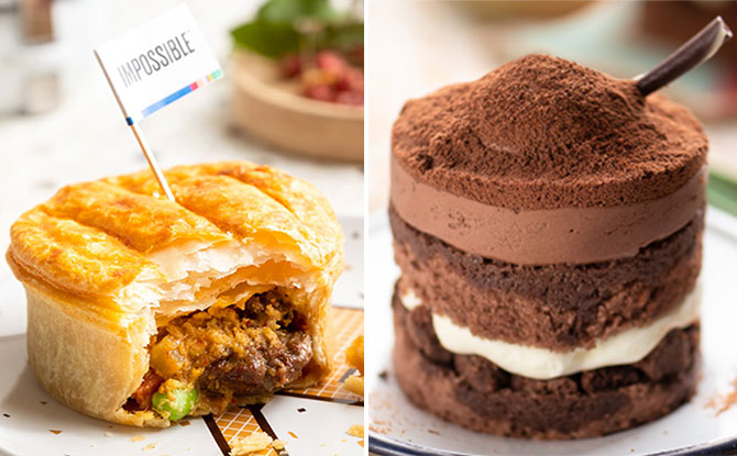 Starbucks's Shiok Menu: Impossible Rendang Pie, Milo Dinosaur Cake & More