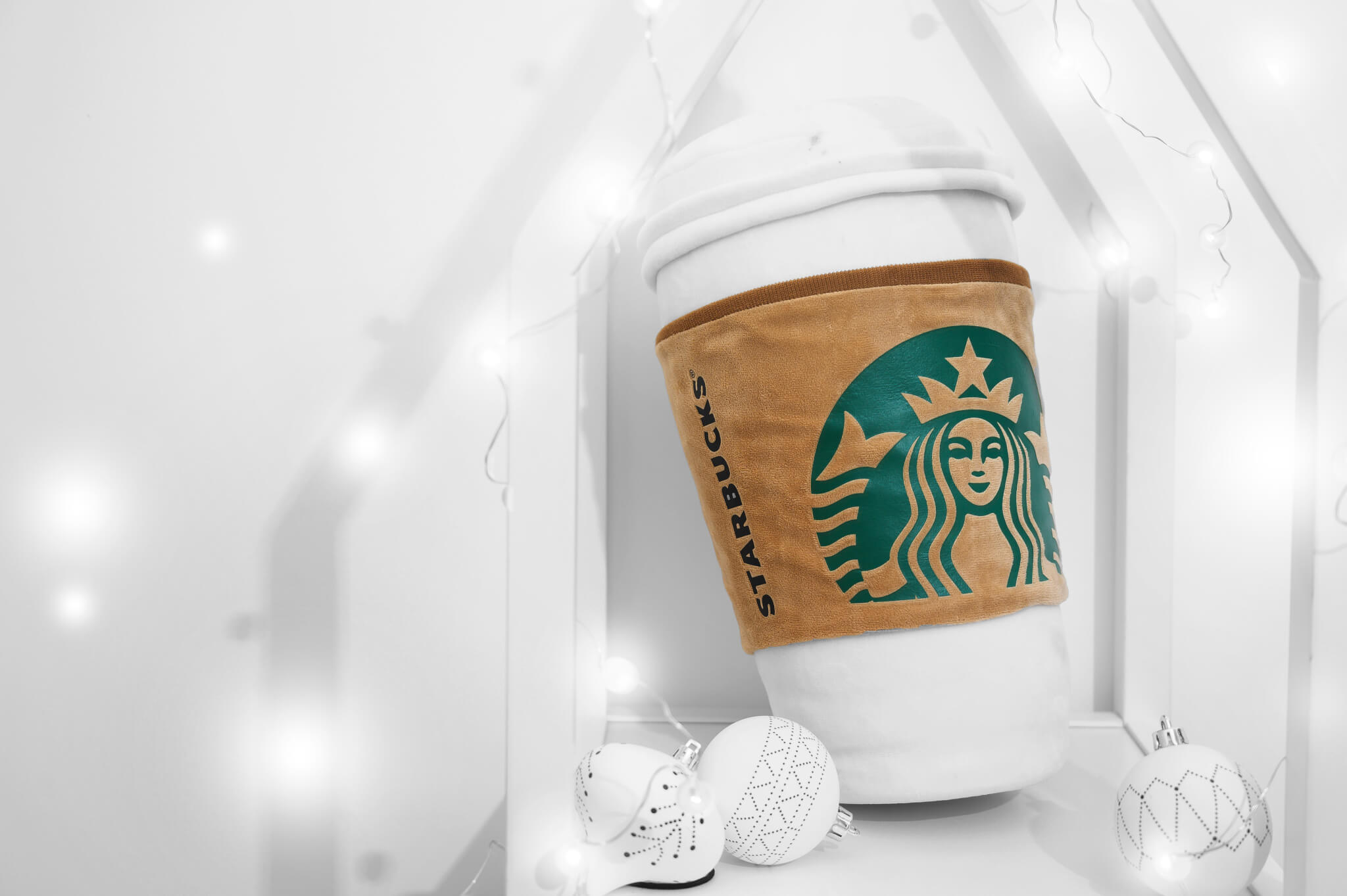 Starbucks + Meykrs - Coffee Cup Cushion