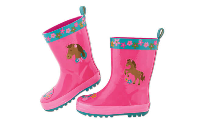 Stephen Joseph Horse Rainboots for Girls