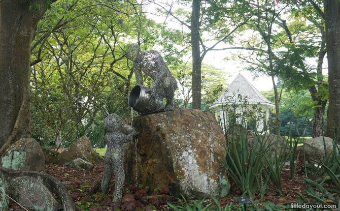 Sculpture at Sun Garden, Singapore Botanic Gardens