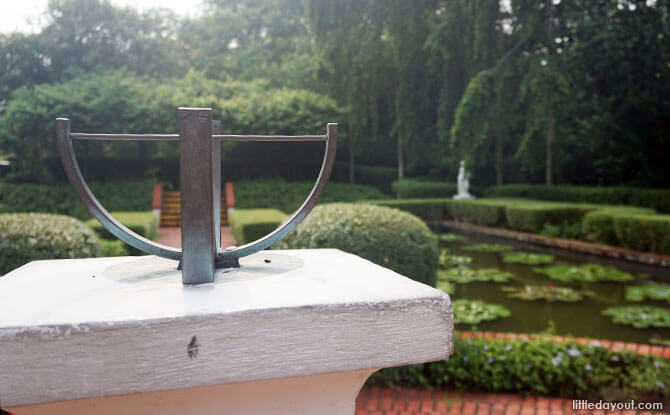Sundial Garden at Singapore Botanic Gardens
