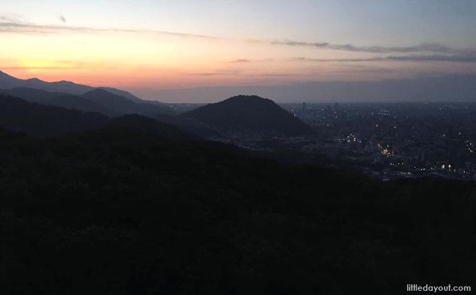 Sunset at Mount Moiwa