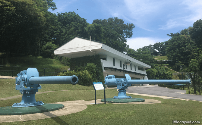 Surrender Chambers at Fort Siloso, Sentosa