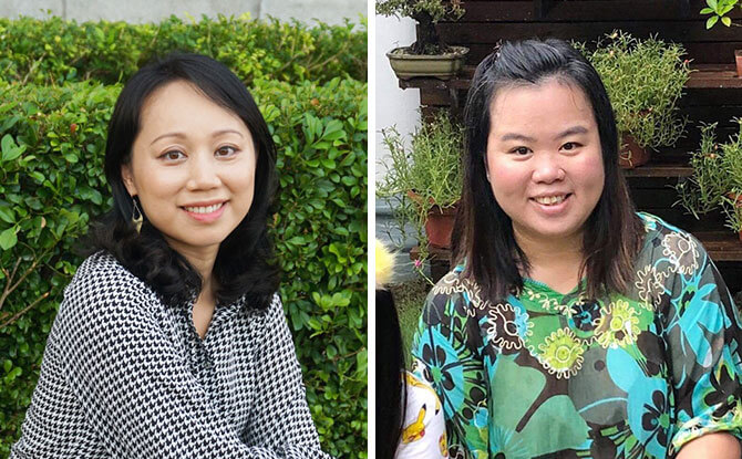 Susanna Lo (left) and Lynn Loke (right), Founders of SG Rocks