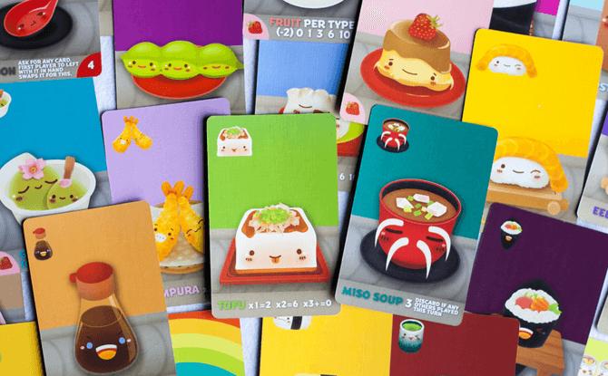 Sushi Go Card Game