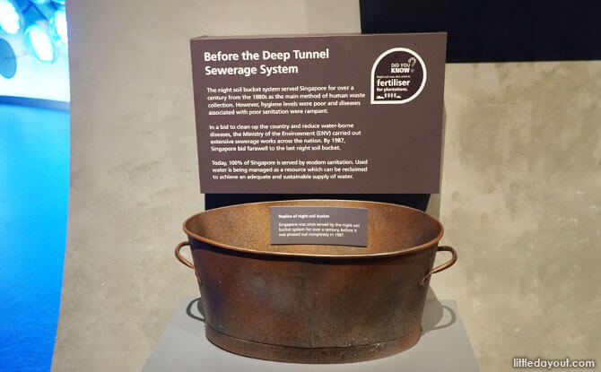 Replica of a night soil bucket