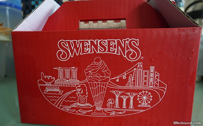 Swensen's Newly Designed Mini Box: Ice Cream Pint Tubs Delivered In Style
