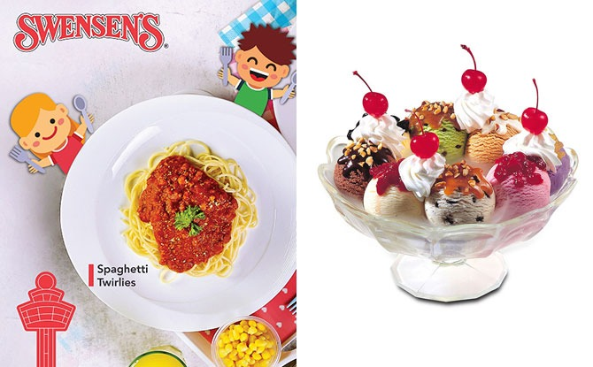 Swensen's Is Celebrating Its New Changi Airport T3 Outlet With Complimentary Kid's Meals And A Chance To Win Lifetime Supply Of Earthquake