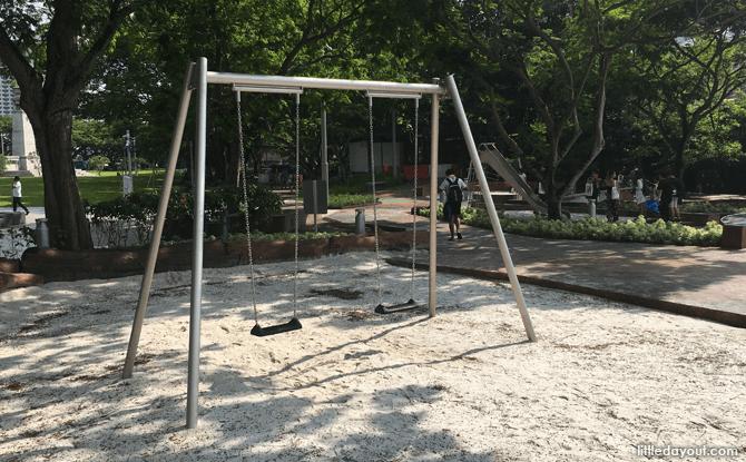 Swings at Esplanade Park