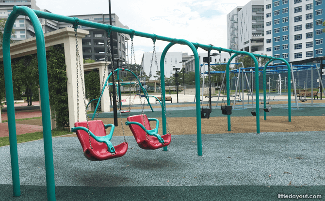 Swings at Canberra Park