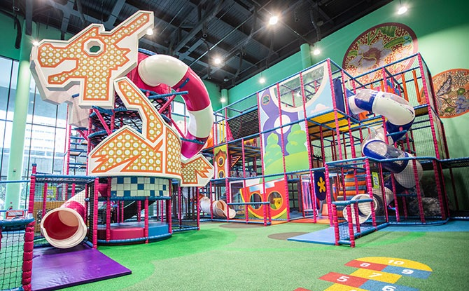 T-Play at HomeTeamNS Khatib - Top Indoor Playground in Singapore