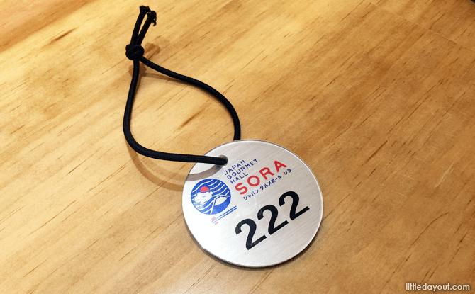 Tag system at SORA
