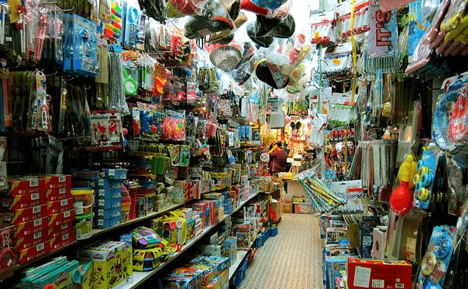 Shop at Toy Street, Hong Kong