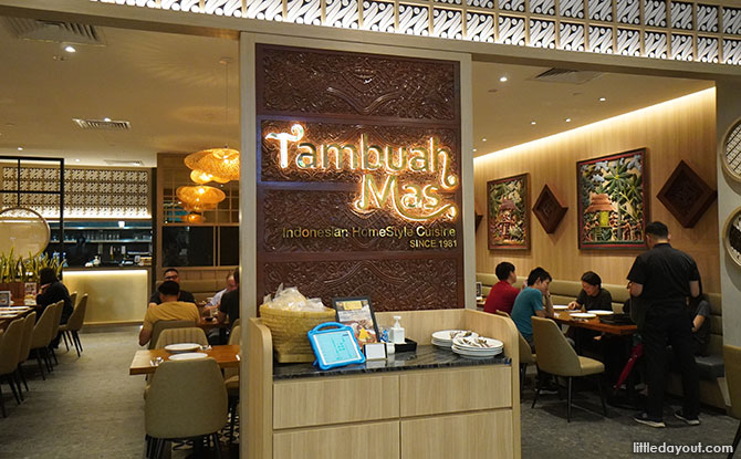 Tambuah Mas Indonesian Restaurant - Great World City Food