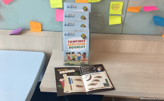 Activity booklet for children at Tampines Gallery