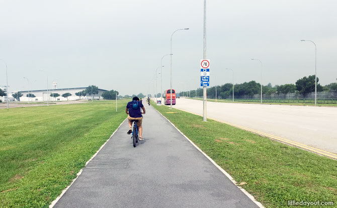 Cycling from Changi to East Coast
