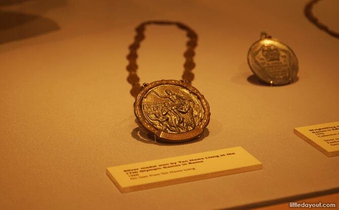Tan Howe Liang's Medal
