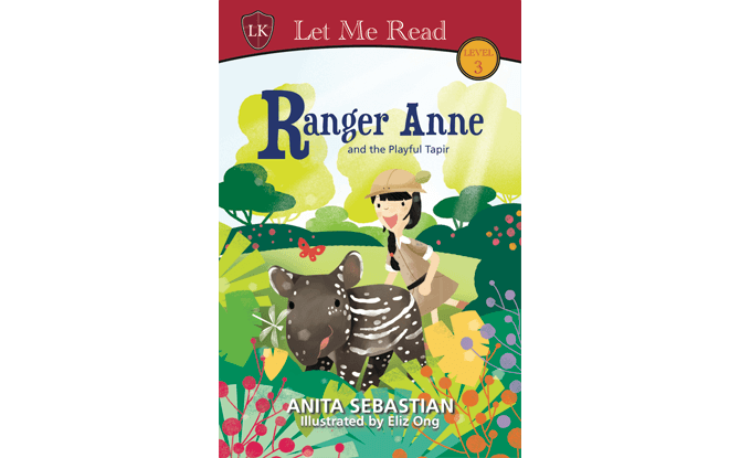Ranger Anne and the Playful Tapir