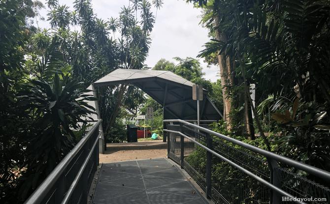 End point at Telok Blangah Hill Park