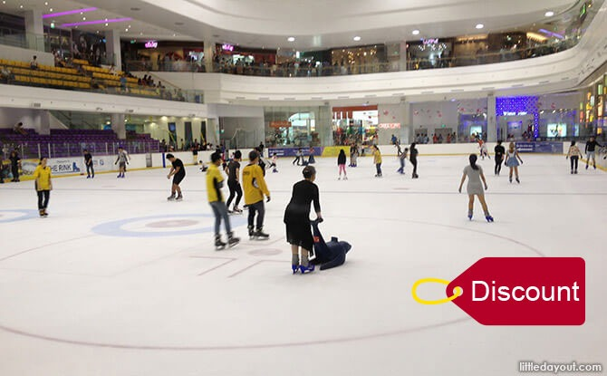 The Rink: Ice Skating Experience (Discounted Ticket)