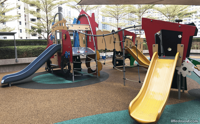 The Seletar Mall Playground: Play Spot In The Corner