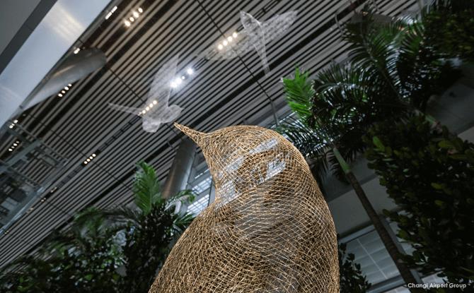 Les Oiseaux by Cedric Le Borgne, Arrival & Departure Halls (Public Area), Changi T4