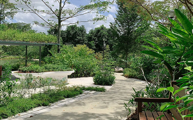 Punggol Waterway Park Therapeutic Garden Opens With Scenic Views