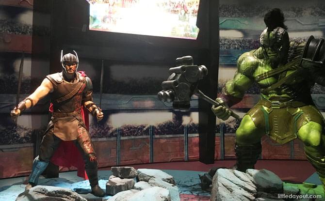 Thor and the Hulk