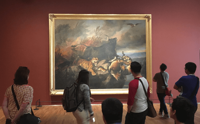 Visiting National Gallery Singapore with Kids