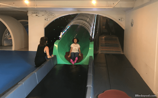 Time tube slider at Imaginia Playland