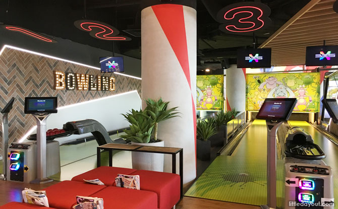 Timezone VivoCity: Bowling, Bumper Cars And Party Room