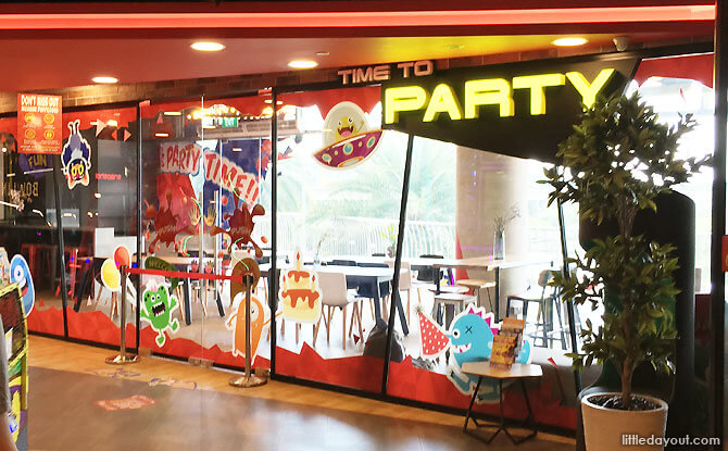 Birthday Party Room at VivoCity Timezone