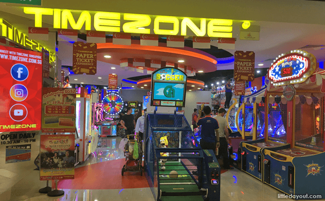 Timezone at Our Tampines Hub - Things to Do at Our Tampines Hub