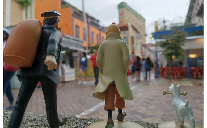 The Tintin Shop In Chinatown Is Closing And Offering Discounts Of 30% And More