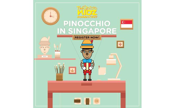 Pinocchio in Singapore
