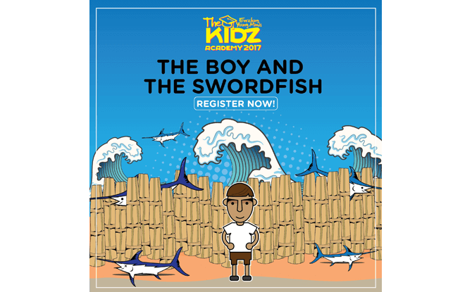 The Boy and the Swordfish, The Kidz Academy Storyland 2017