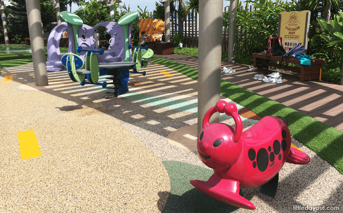 Tampines 1 Playground: Wildlife On The Rooftop