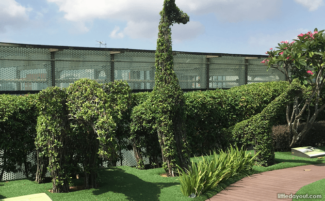 Topiaries at Tampines 1 Rooftop