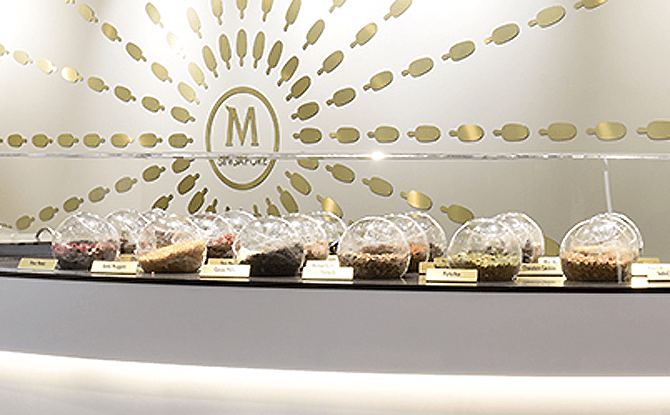 Toppings at the Magnum Bar